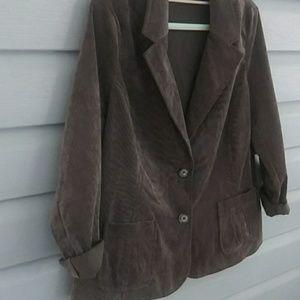 Women's blazer kim rogers size 16